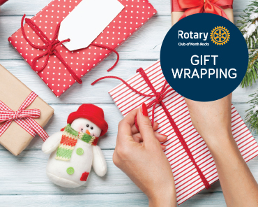 Rotary Club of North Rocks Gift Wrapping